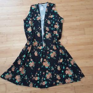 Jackets & Blazers - Gently used LuLaRoe floral Joy Size Medium